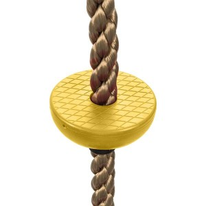 Climbing Rope Swing with Disc Swing Seat Set Rope Ladder for Kids Outdoor Tree Backyard Playground Swing