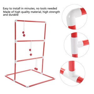 Ladder Golf Ball Throw Toss Game Toy Set Sports Balls Family Party