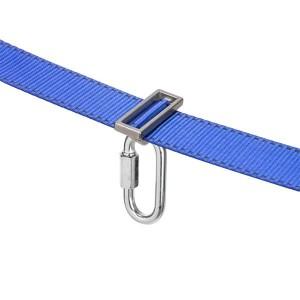 Outdoor Obstacle Training Slackline Blue