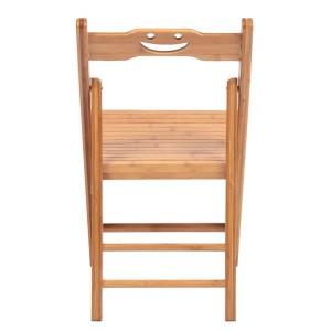 2 Pcs Smiley Folding Chair Burlywood