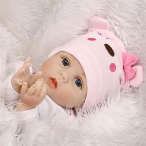 """22"""" Cute Simulation Baby Infant Toy Pink"""