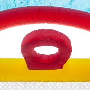 18.7ft x 11.6ft x 8.2ft Inflatable Water Slide Pool Bounce House Jumper Castle