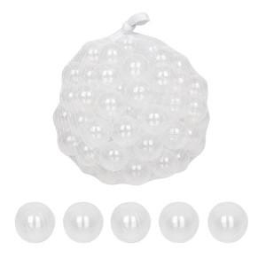 100pcs 5.5cm Fun Soft Plastic Ocean Ball Swim Pit Toys Transparent