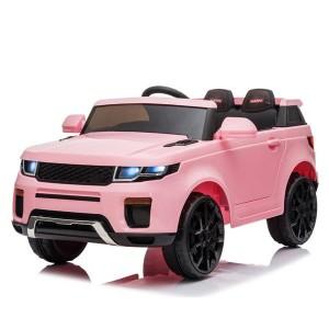 12V Kids Ride On Car 2.4GHZ Remote Control LED Lights Pink